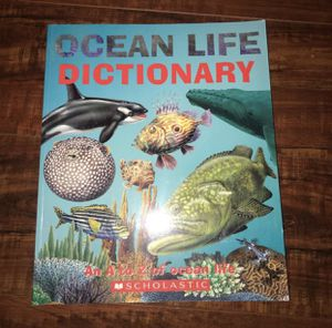 Ocean life dictionary book for Sale in Fresno, CA