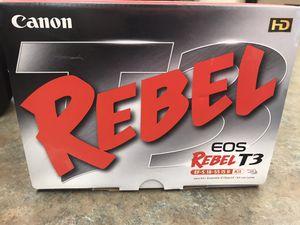 Canon Digital Camera - Rebel T3 for Sale in Ocala, FL