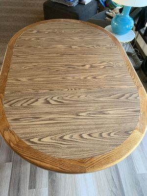 Mid century dining room table. 4-12 ft for Sale in San Diego, CA