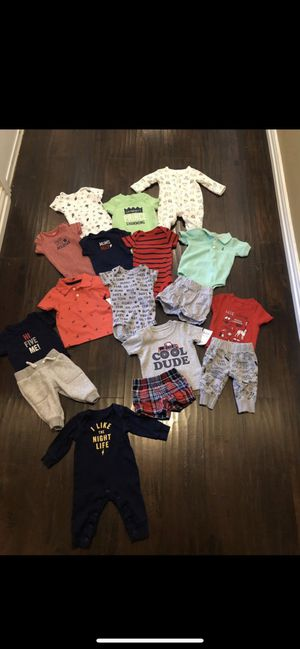 💙SIZE 3 MONTHS BABY BOY CLOTHING 💙 for Sale in Grand Prairie, TX