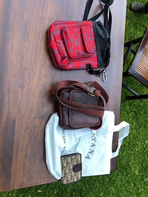 French Leather Purse and matching wallet for Sale in Chevy Chase, MD