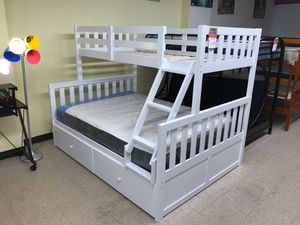 Twin / full bunk bed frame for Sale in Philadelphia, PA