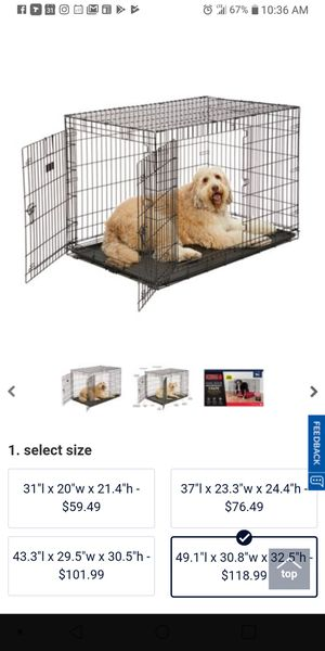 Xxl dog kennel for Sale in Baltimore, MD