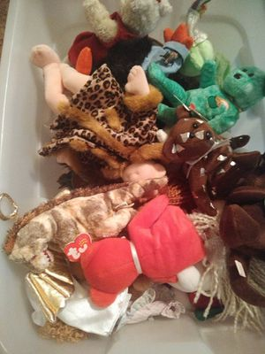 Beanie babies some rare for Sale in Round Rock, TX