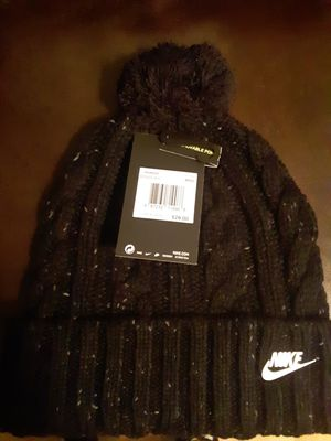 Nike woman's hat with pom pom ball for Sale in Chicago, IL