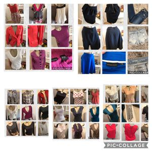 Juniors/women's clothing various sizes and prices namebrand lots new with tags. $5 to $10 Dresses tops jackets skirts for Sale in Fremont, CA