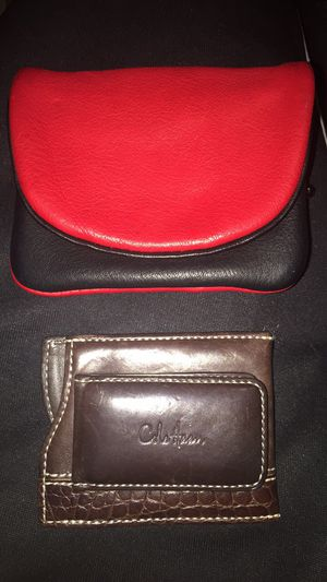 Leather wallets for Sale in Newton, MA