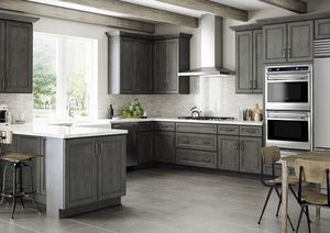 Dark Grey Shaker Kitchen Cabinets for Sale in Cleveland, OH