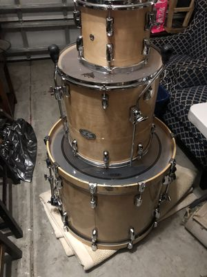 Pearl Vizion Maple Wood Drumset for Sale in Chesapeake, VA