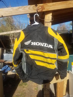 Honda motorcycle jacket for Sale in Aurora, CO