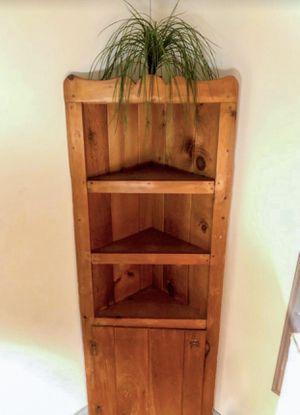 Corner Shelf Solid Wood Amish Cabinet for Sale in Philadelphia, PA