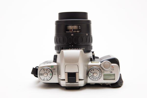 Pentax ZX-5 35mm SLR Film Camera + Lens!