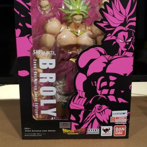 S.H. Figuarts DragonBall Z Broly SDCC 2018 Event Exclusive Color Edition for Sale in Nampa, ID