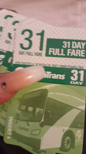 bus pass 31 day for Sale in San Bernardino, CA