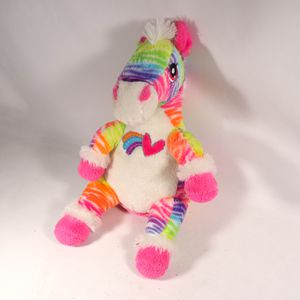 "8""x20"" Tall Rainbow Stuffed Animal Plushie Horse Dan Dee Toy Plush for Sale in Mesa, AZ"