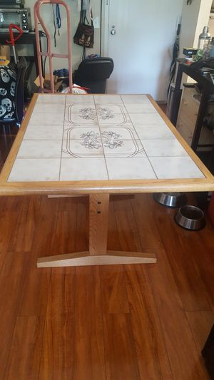 Tile top kitchen / dining table for Sale in Alexandria, VA