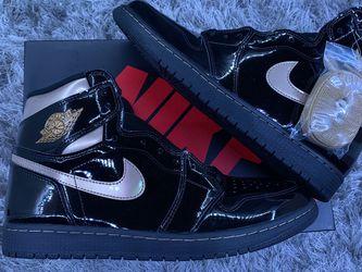 "Air Jordan 1 Retro High ""Black Metallic Gold"" 2020 Size:11M for Sale in Guadalupe,  CA"