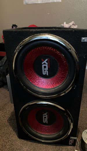 "SDX Audio speakers and amp 12"" for Sale in Pittsburg, CA"