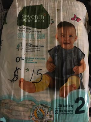 Baby diapers and Blooming baby Hooded towel for Sale in San Diego, CA