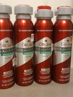 old spice deodorant spray $ 3.00 each for Sale in Riverside,  CA