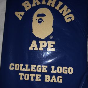 Bape college tote bag for Sale in Highland, CA