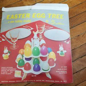 Vintage Easter Egg Plastic Tree for Sale in Appleton, WI
