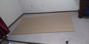 Hard board... It came with a twin sized bed for Sale in Bloomington, IL