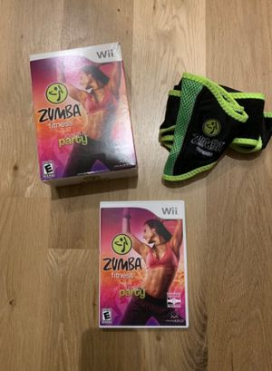 Zumba Fitness Join the Party with Belt for Nintendo Wii for Sale in Apex, NC