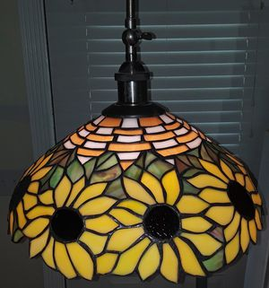 antique flower lamp and shade for Sale in Slidell, LA