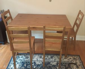 Dining Table + 4 chairs for Sale in Washington, DC