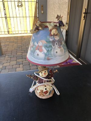 Snowman Lamp for Sale in Fort McDowell, AZ