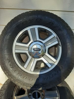 Tires mounted on 6 hole for Sale in Payson, AZ