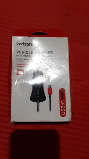 Verizon vehicle charger with fast charge for Sale in Glendale, AZ