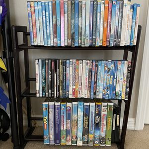 DVD COLLECTION AND SHELVING UNIT for Sale in Sarasota, FL