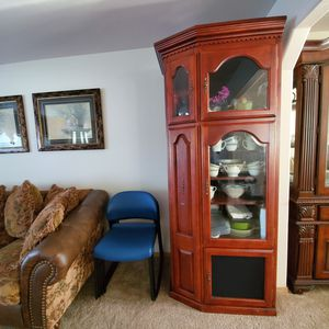 Wooden side hutch for Sale in Pasco, WA