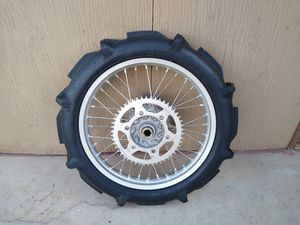 RMZ complete wheel with paddle for Sale in Phoenix, AZ