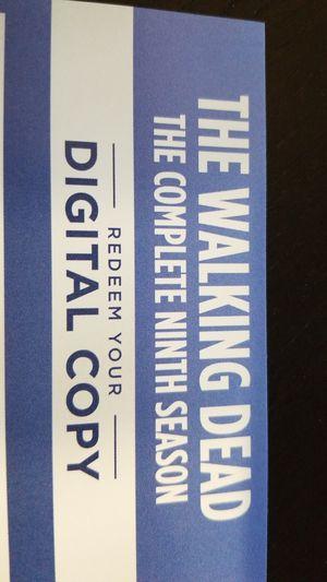 The Walking Dead Season 9 Digital HD for Sale in Las Vegas, NV