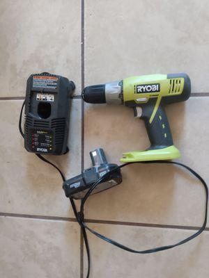 Ryobi cordless drill. for Sale in Glendale, AZ