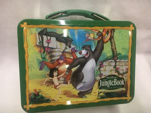 Disney Jungle Book Metal Lunchbox for Sale in St. Peters, MO