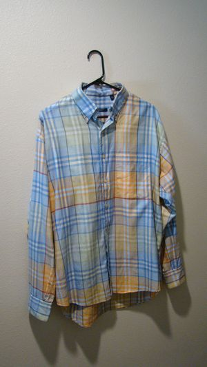Burberry long sleeve button ups L/XL for Sale in Montclair, CA