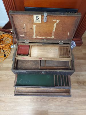Antique Gaming Chest for Sale in Tacoma, WA