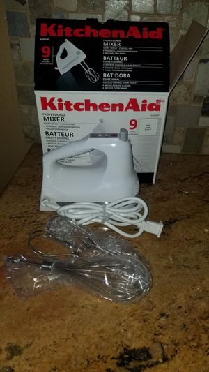 Kitchen aid 9 speed mixer for Sale in Las Vegas, NV