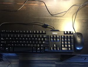 Dell Keyboard and Mouse office and school work for Sale in Lynn, MA