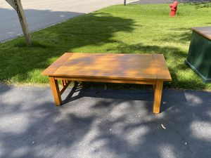 Prairie style coffee table for Sale in Naperville, IL