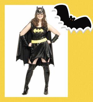"""THE BAT 🦇 GIRL!"" Women's deluxe premium pleather plus size bat girl costume SIZE XL - NEW! for Sale in Carrollton, TX"