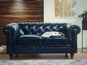 Two matching Chesterfield Loveseat Sofas by Divano Roma for Sale in Las Vegas, NV