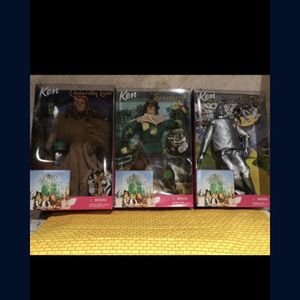Wizard of Oz Barbie Dolls set of 3 (1999) for Sale in Orange, CA