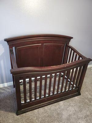 Free - Espresso Baby crib for Sale in Marysville, WA