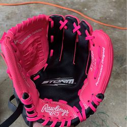 Rawlings 10 Inch Left Handed Storm Glove for Sale in La Porte,  TX