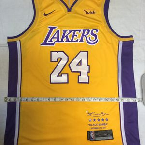 LA Lakers Jersey Kobe Bryant Brand New SIZE L/XL (52) THURSDAY PRICE ONLY for Sale in Los Angeles, CA